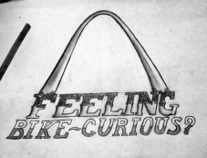 Feeling Bike-Curious- T-shirt Concept Drawing, 2015