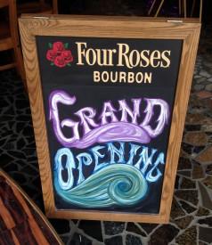 Grand Opening- Chalkboard, 2014