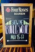 Show-Me Burlesque Festival- Chalkboard, 2014