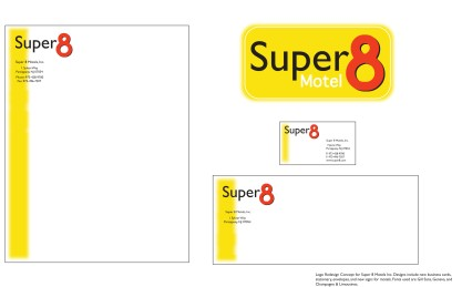 Super 8- Rebranding concept, 2009